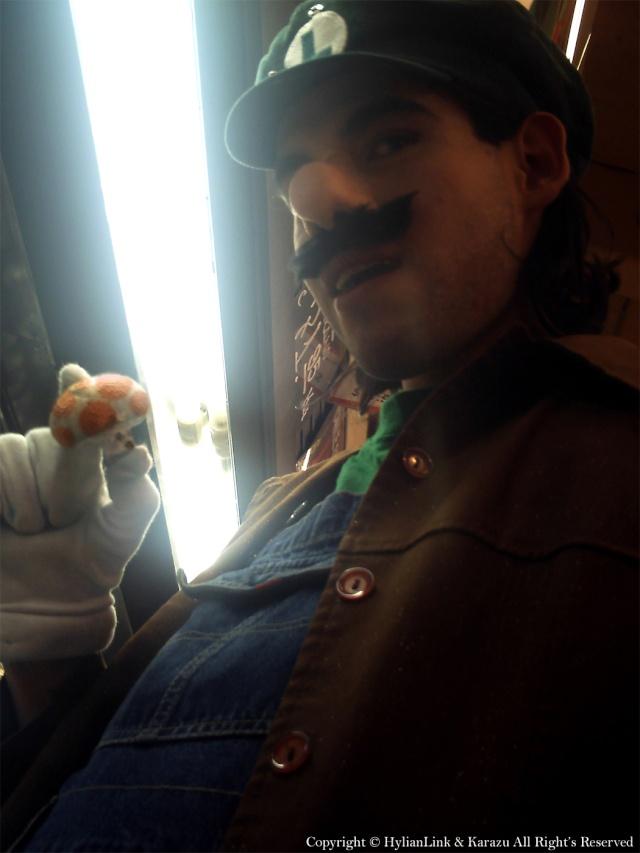 ~Luigi on Mexican Mushroom Kindom~ Luigi_26