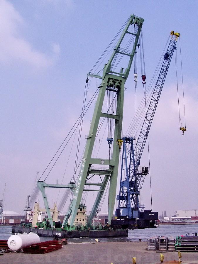 La grue BRABO 800 tonnes (B) Antwer10