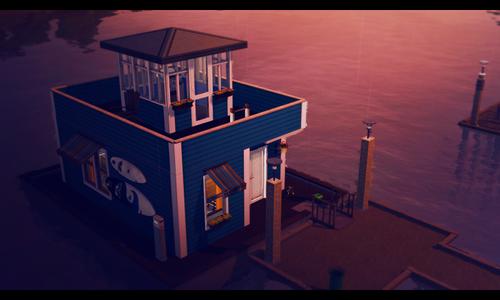 [Inspiration] [Sims 3] Maisons-bateaux Tumblr11