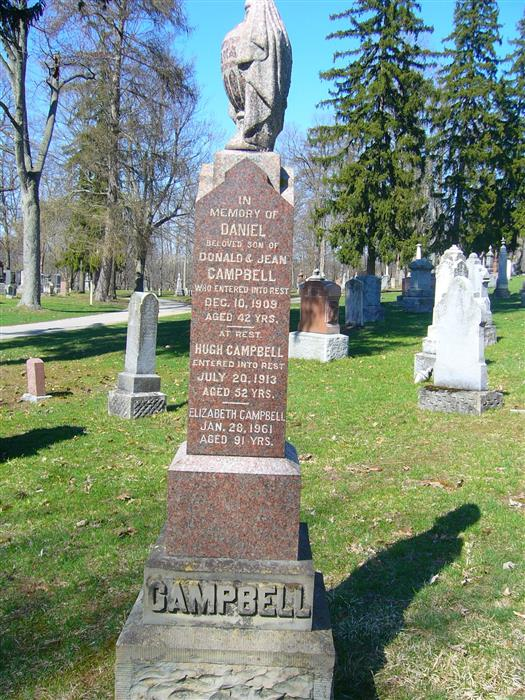 Grave stone of Sgt James Rycroft DCM MM  Campbe10