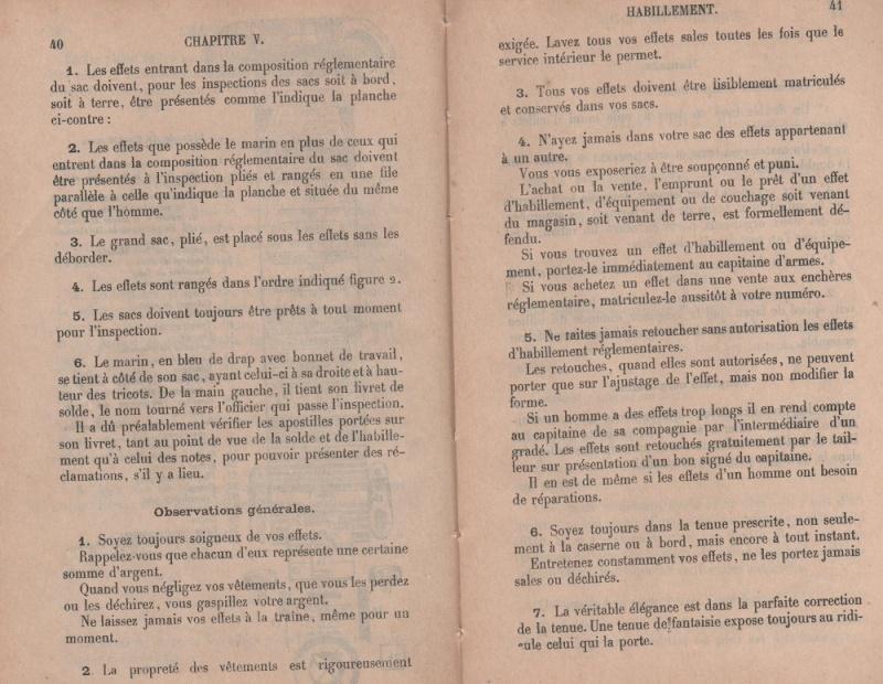 [Les traditions dans la Marine] Tenue dans la Marine- Tome 01 - Page 38 Hab_0013