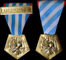 La Médaille de la Résistance Française Depint10