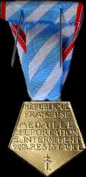 La Médaille de la Résistance Française Depint11