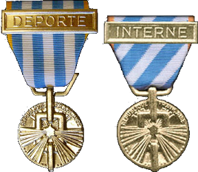 Médaille de la Dépotatoion et internement politique Depint12
