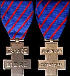 Médaille des Services Volontaires dans la France Libre France11