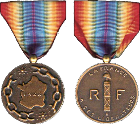 Médaille de la France Libérée France12