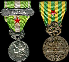 La médaille française des blessés de guerre Insign11