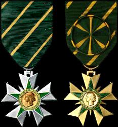 Ordres de Mérites Spécialisés Meritc17
