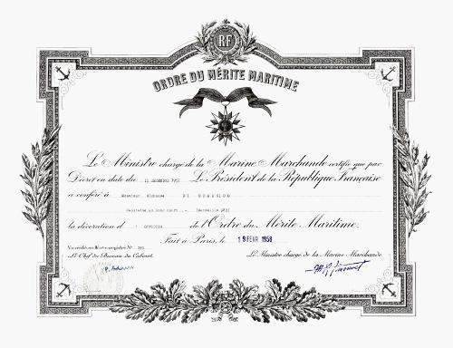 Les Ordres Actuels  Meritm11