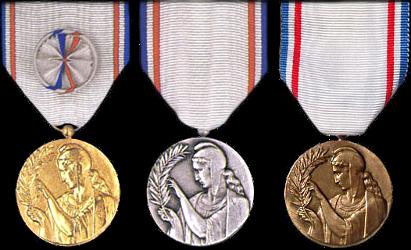 Médaille de la reconnaissance Francaise Recofr12