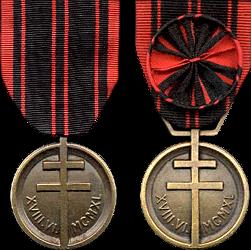 La Médaille de la Résistance Française Resist10