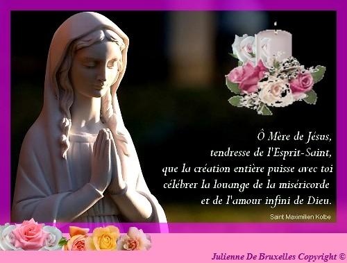 Mois de mai : mois des pélérinages vers Marie Maximi10