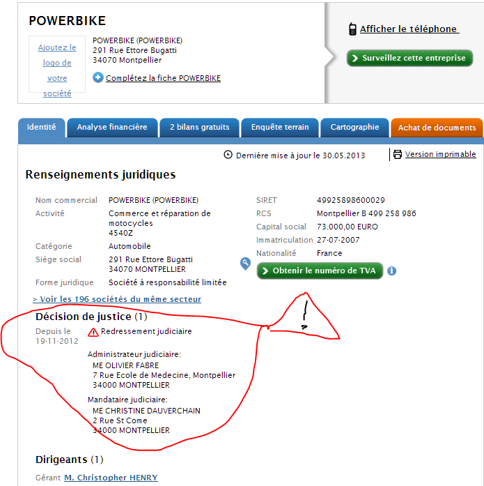 reseau concession benelli Powerb10