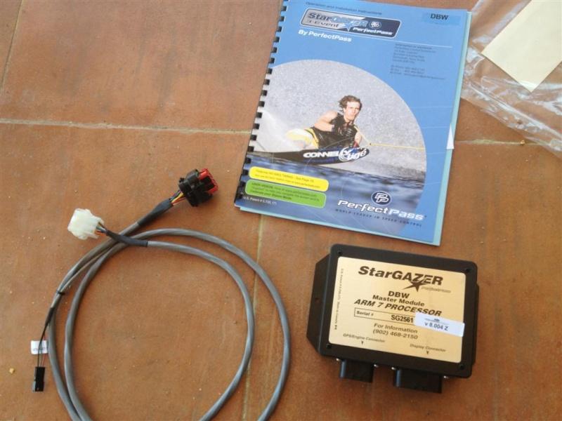 Cambiar paddle wheel por un GPS Starga10