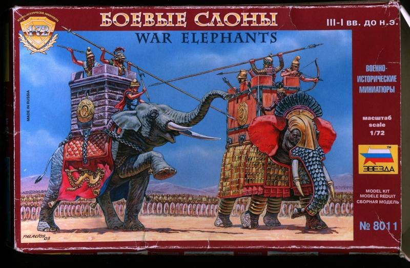 Babar chez les barbares 1/72 Elepha15