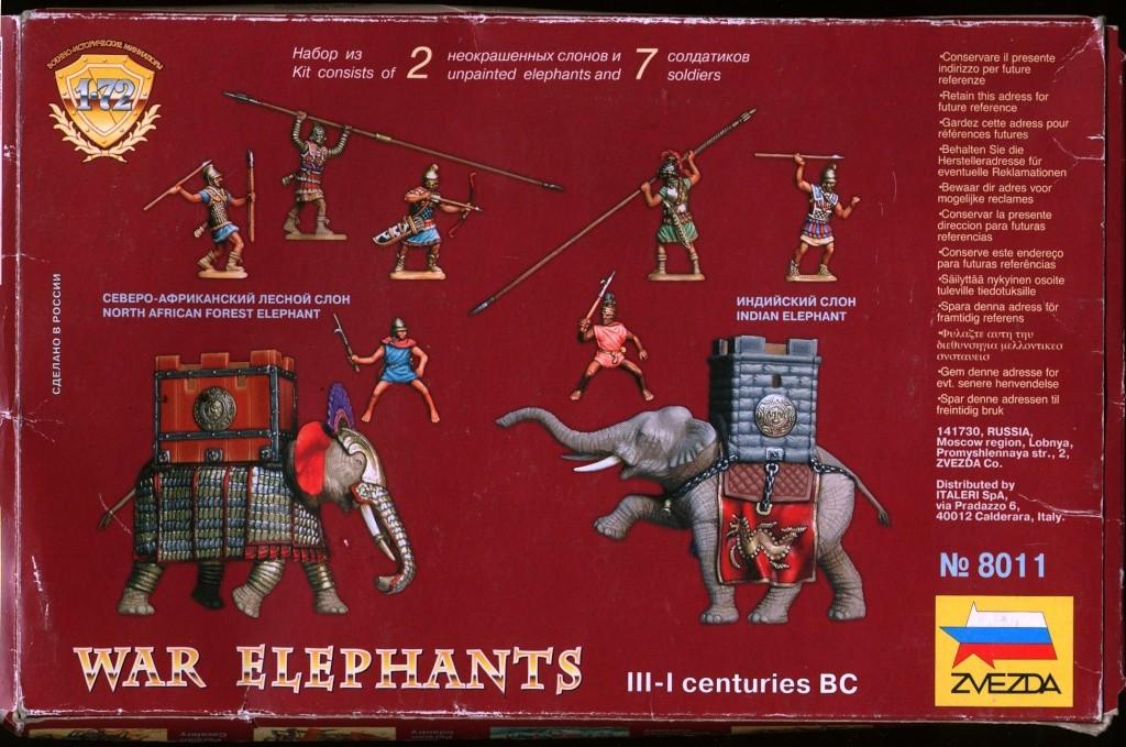 Babar chez les barbares 1/72 Elepha16