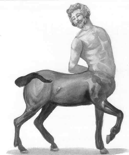 Dryades et Centaure (Deux sonnets) Centau10
