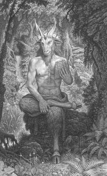 Dryades et Centaure (Deux sonnets) Faune10