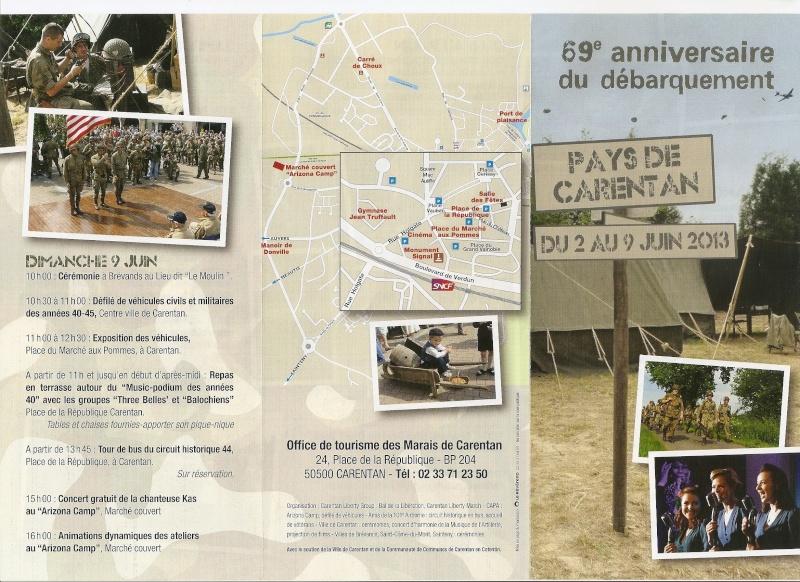 Programme 69ème anniversaire - Carentan Numari11