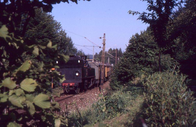 Museumszug Jesenice am 6.August 1987 87-08-14