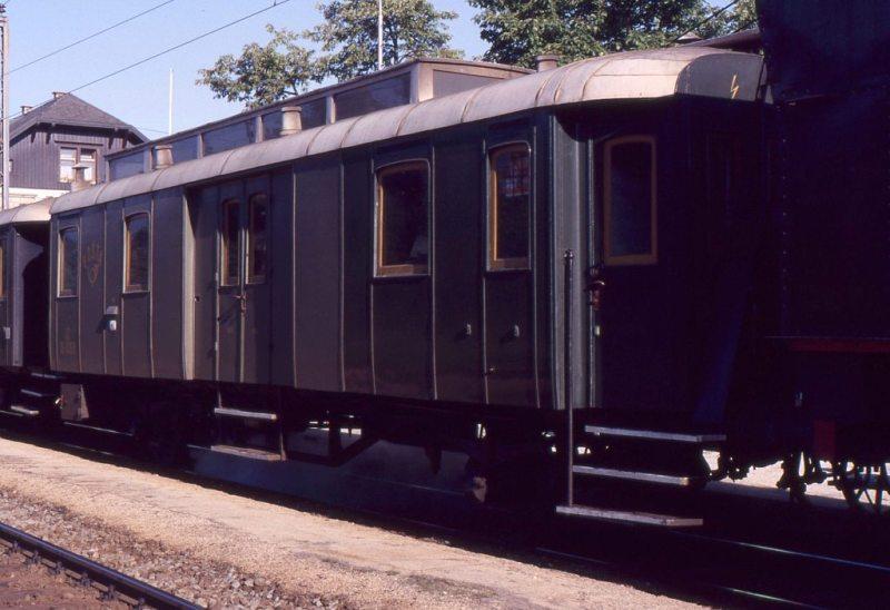 Museumszug Jesenice am 6.August 1987 87-08-25