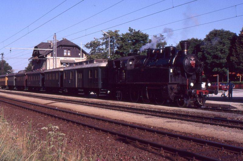 Museumszug Jesenice am 6.August 1987 87-08-28