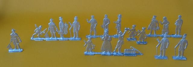 Meine -unbemalten, flachen- Eisenbahnfiguren aus Zinn Dsc03424