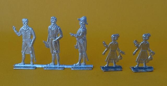 Meine -unbemalten, flachen- Eisenbahnfiguren aus Zinn Dsc03425