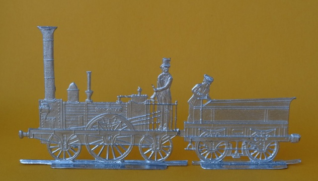 Meine -unbemalten, flachen- Eisenbahnfiguren aus Zinn Dsc03428