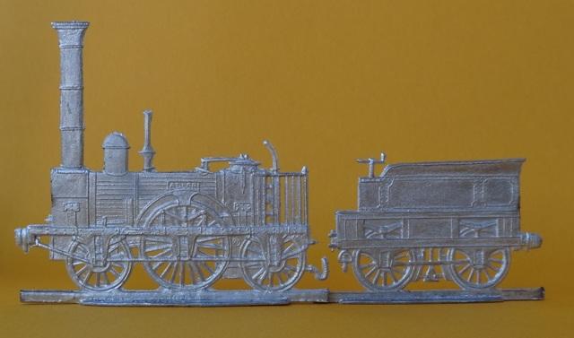 Meine -unbemalten, flachen- Eisenbahnfiguren aus Zinn Dsc03432