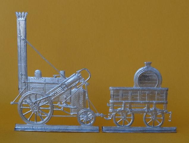 Meine -unbemalten, flachen- Eisenbahnfiguren aus Zinn Dsc03455