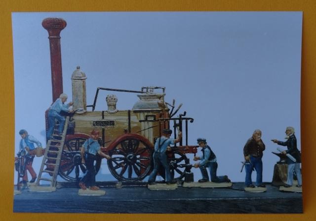 Meine -unbemalten, flachen- Eisenbahnfiguren aus Zinn Dsc03460