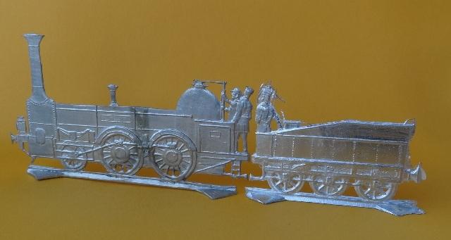 Meine -unbemalten, flachen- Eisenbahnfiguren aus Zinn Dsc03461