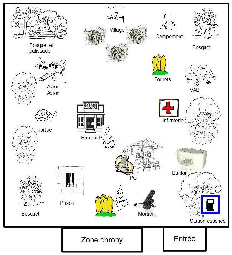 LE TERRAIN .... en images et sa localisation  Plan10
