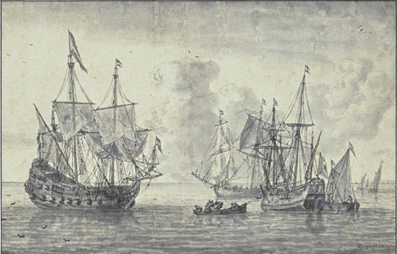Le navi del XVII secolo  - Pagina 2 12089010