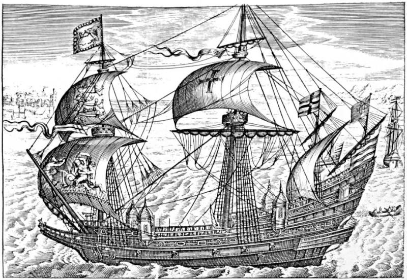 Le navi del XVII secolo  - Pagina 2 35410