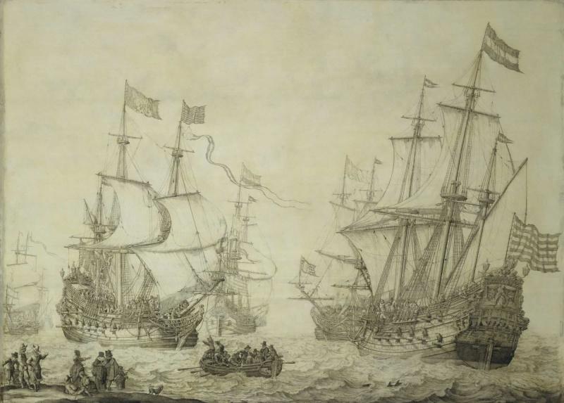 Le navi del XVII secolo  - Pagina 2 Bhc08610