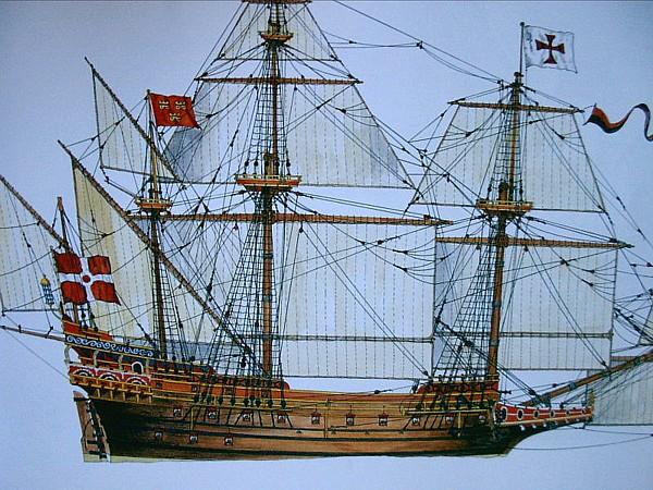 Le navi del XVII secolo  - Pagina 2 Portug10