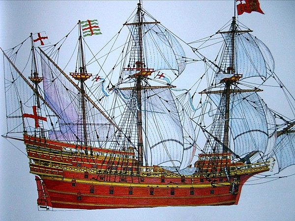 Le navi del XVII secolo  - Pagina 2 White_10