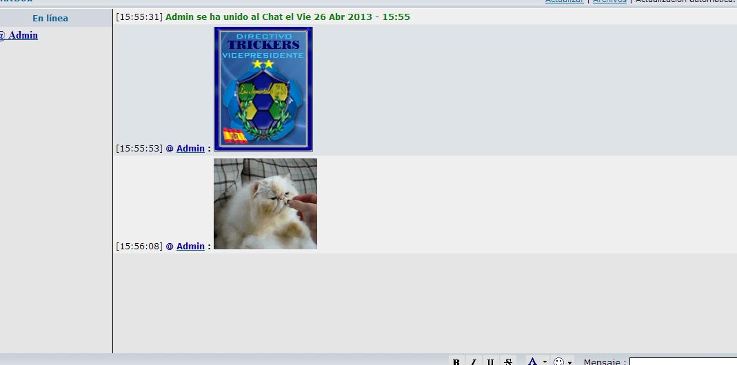 [Solo en Chrome] La chatbox pega saltos cuando hay imágenes en algún mensaje Chat310