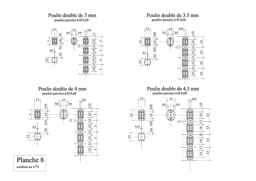 Les poulies au 1/72 Planch41
