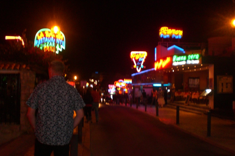The Strip, (day & night), Albufeira, Algarve Cimg2852