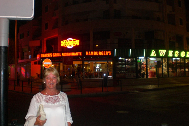 The Strip, (day & night), Albufeira, Algarve Cimg2948