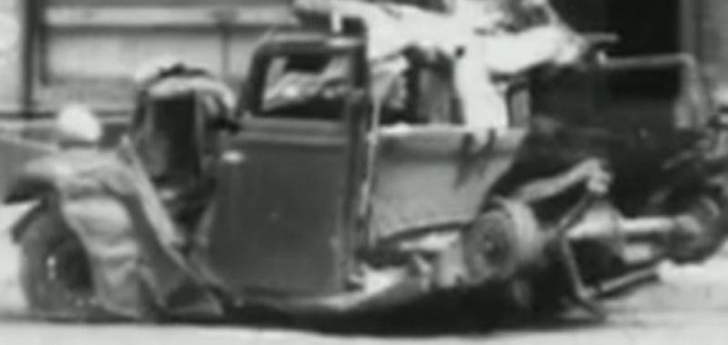 vidéo accident Peugeot 201 2011010