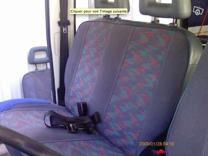 Remplacement siège passager eriba car par banquette 2 places Captur12