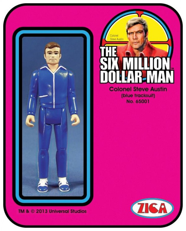Zica Toys  'Six Million Dollar Man'  Steve-10