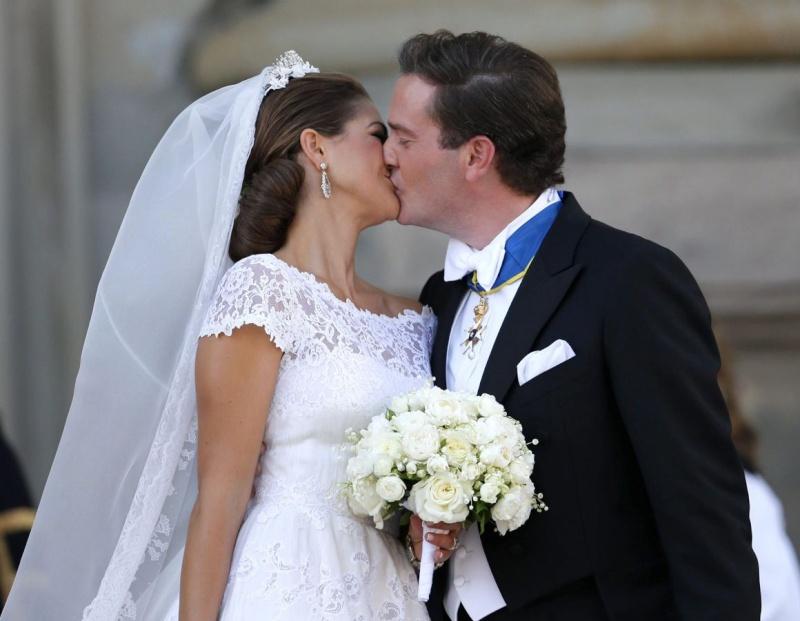 Sweden's Princess Madeleine weds 1214d910