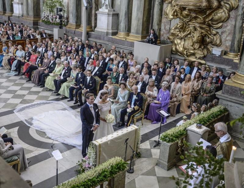 Sweden's Princess Madeleine weds 1851c610