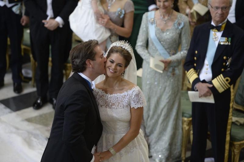 Sweden's Princess Madeleine weds 2013-218