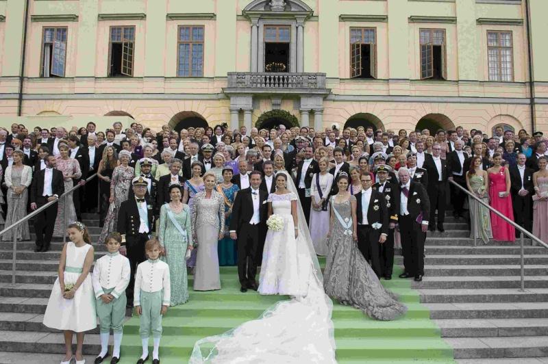 Sweden's Princess Madeleine weds 2013-228